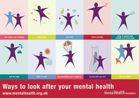 Ten Ways to Look After Your Mental Health